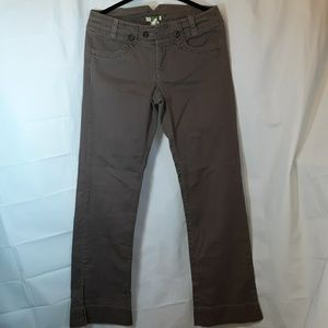 Ett:twa By Anthropologie Trouser Pants Jeans Brown